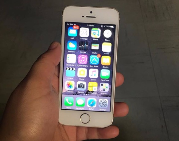 IPHONE 5S 16GB SILVER photo