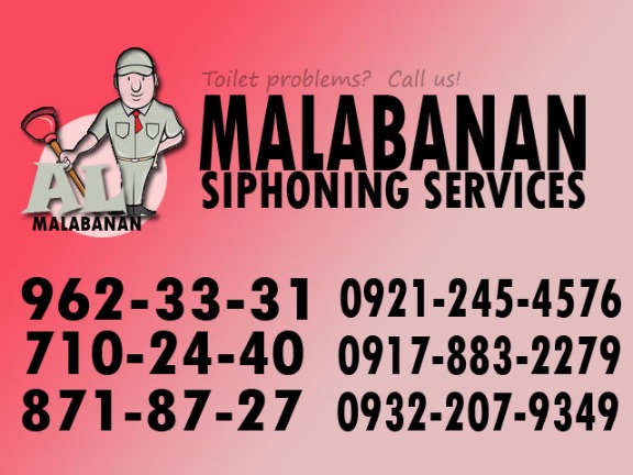 MALABANAN DECLOGGING SERVICES 8718727 @ MARIKINA photo