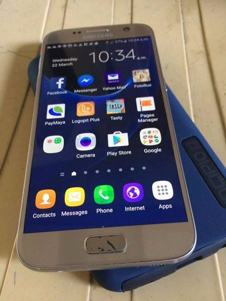 Samsung S7 Flat 32GB GOLD photo