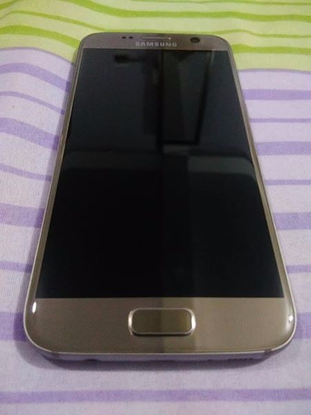 Samsung S7 Flat Dous Gold(32GB) photo