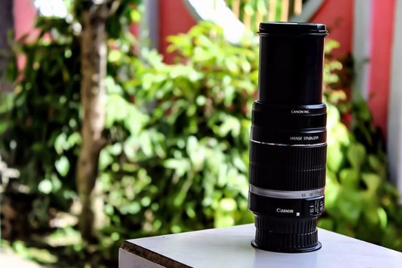 Zoom Lens 55-250mm for CANON Dslr photo