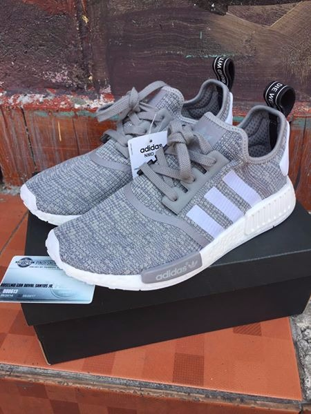 Adidas NMD R1 Wool Grey photo