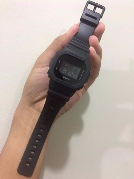 GSHOCK DW5600 Blackout photo