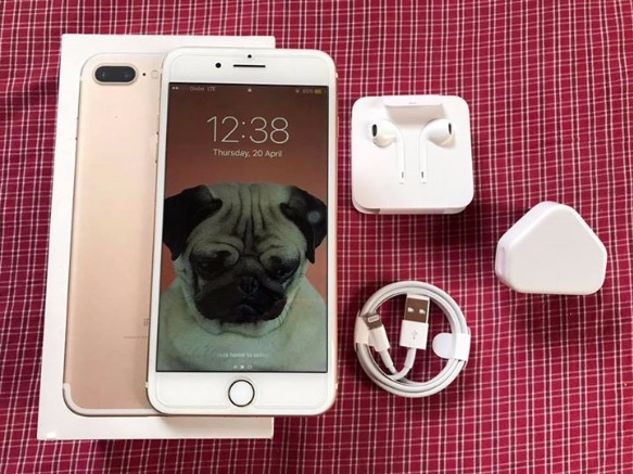 iPhone 7plus Champagne Gold 128gb Factory Unlock photo