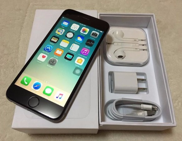 iphone 6 spacegray 16gb factory unlock (lte ready) photo
