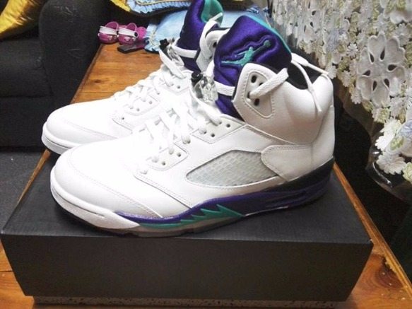 Jordan 5 Grapes photo