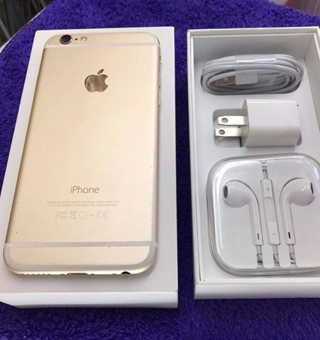 iPhone 6 (GOLD) 16 Gb Factory Unlock photo