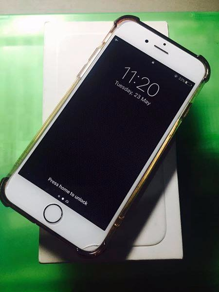 iphone 6 gold globelocked lte used philippines. Black Bedroom Furniture Sets. Home Design Ideas
