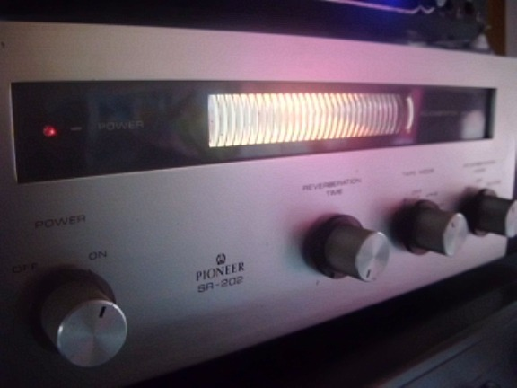 Reverbaration Amplifier SR 202 Pioneer photo