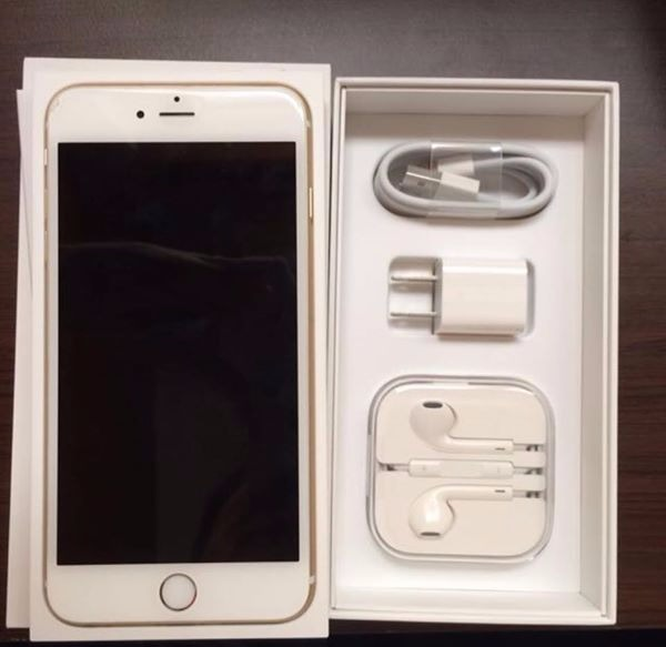 Iphone 6 plus 16gb Openlinr Complete Gold