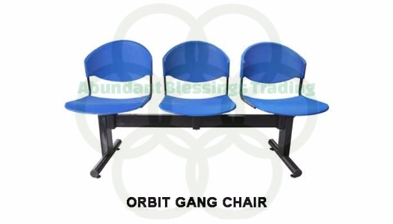 gang chair and connectables photo