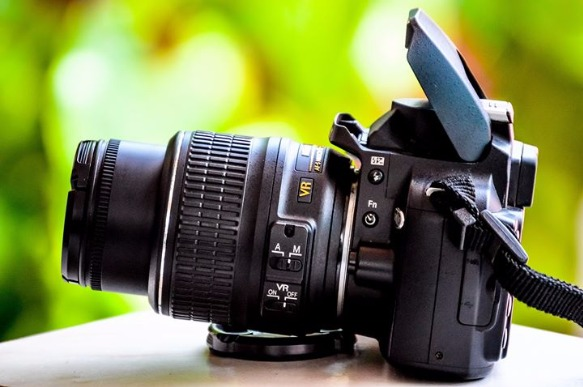 Camera DSLR Take a Photo with NIKON photo