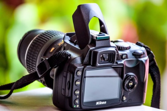 Camera DSLR Take a Photo with NIKON image 2