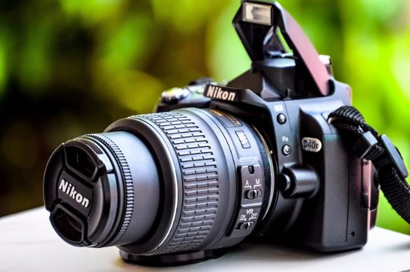 Camera DSLR Take a Photo with NIKON image 3