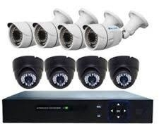 ISAFE CCTV CAMERA PACKAGE HD8CHKITP6-BULLET & DOME photo