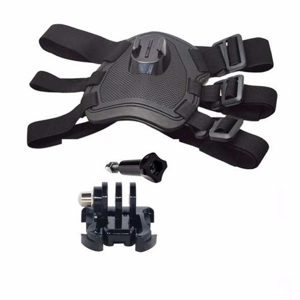 Adjustable Dog Fetch Harness Chest Strap Belt Mount for Go PrO photo