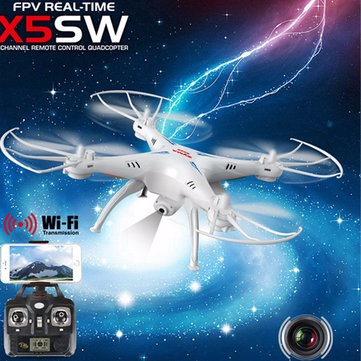 Syma X5SW Explorers 2 2.4GHz 4 Channel WiFi FPV RC Quadcopter with 2.0MP HD photo