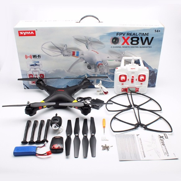 SYMA X8W WIFI FPV HEADLESS MODE QUADCOPTER WITH HD 2.0MP CAMERA photo