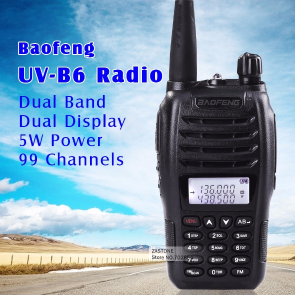 BAOFENG RADIO DUAL BAND UV-B6 photo
