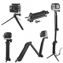 AT290 Collapsible 3 Way Monopod Easy Underwater Monopod SJCAM photo