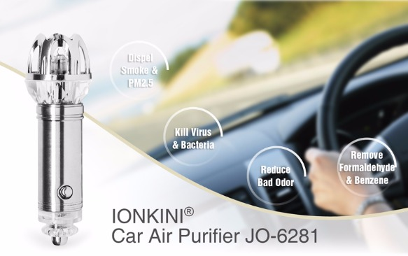 CAR anion air Purifier Auto Air purifier oxygen Bar Ionizer photo