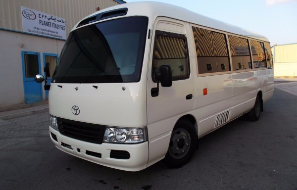 TOYOTA COASTER FOR RENT photo