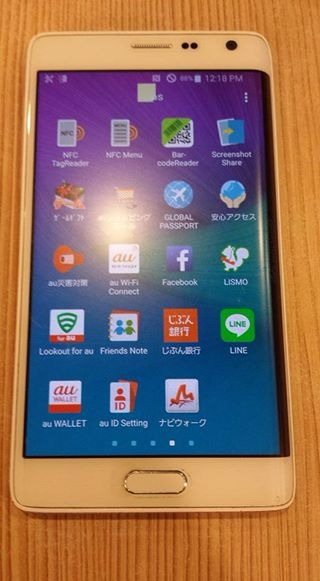 Samsung Note 4 32gb White and Samsung Note Edge 32gb photo