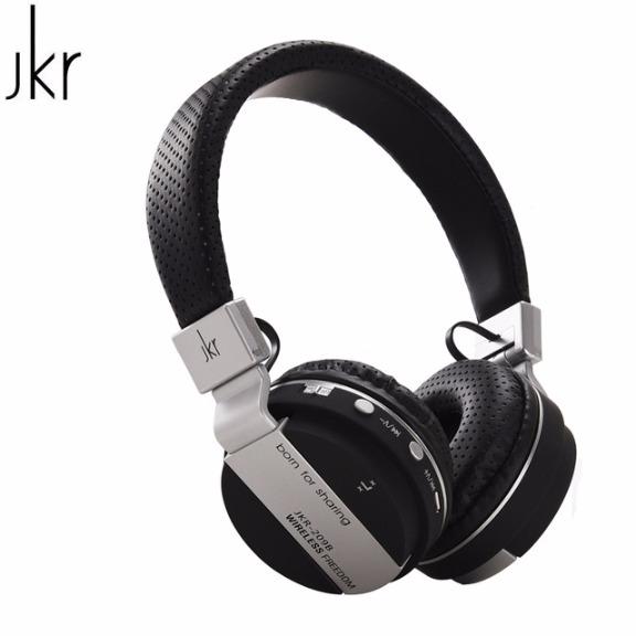 JKR 209B MULTI-FUNCTION WIRELESS BLUETOOTH HEADPHONE FOR SMART PHONES & PC photo