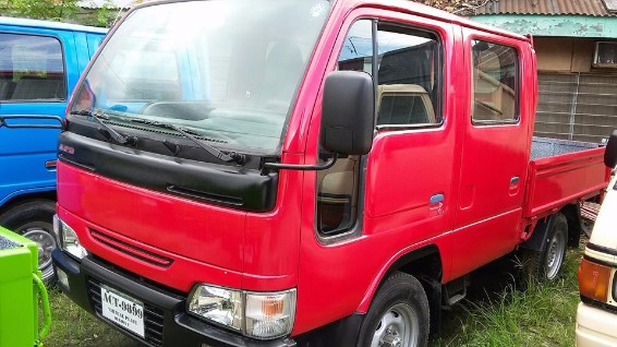 Nissan Atlas 4WD QD32 Double Cab photo