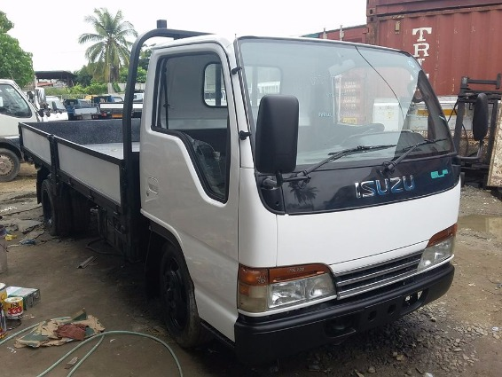 Isuzu Elf 4HF1, Dropside 14ft. Torsion photo