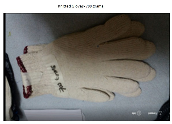 Knitted, Maong Gloves, Leather Gloves photo