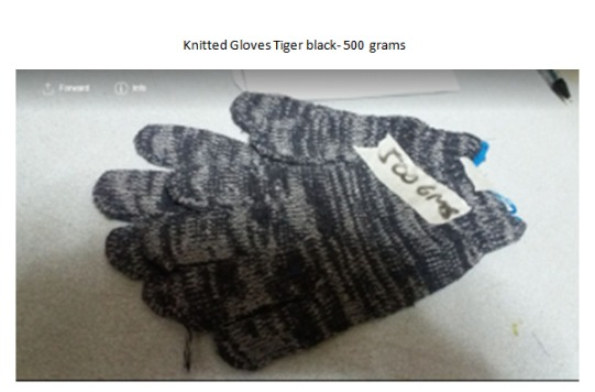 Knitted, Maong Gloves, Leather Gloves image 2