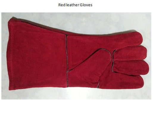 Knitted, Maong Gloves, Leather Gloves image 4