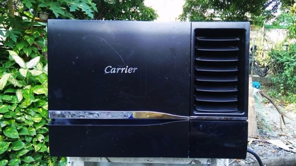 Aircon carrier 1hp designer series with remote photo