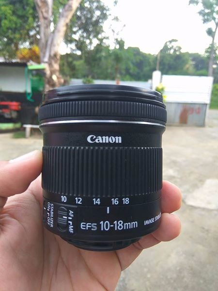 Canon EFS 10-18 F4.5-5.6 IS STM photo