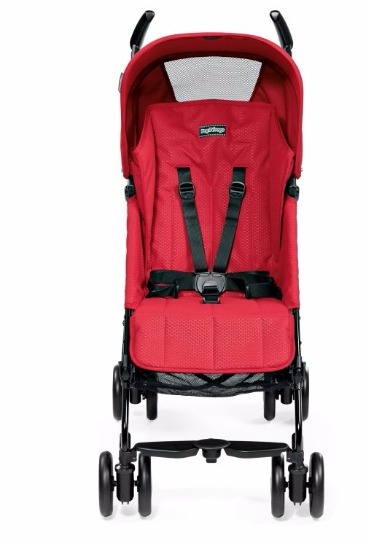 PEG PEREGO PLIKO MINI BABY STROLLER  (RED) photo