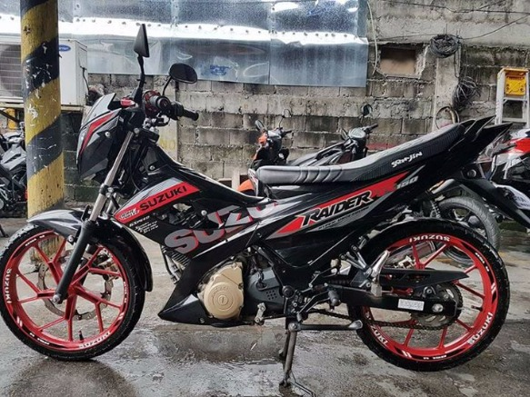 suzuki raider 150 reloaded photo