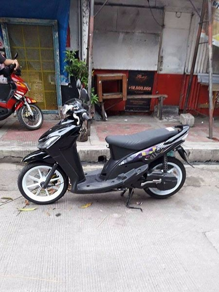 Yamaha Mio Sporty 2010 model photo
