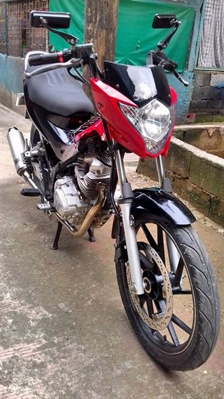 Raider style Rusi 150cc brand photo