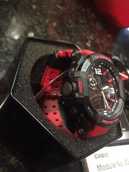 Ga 1000 Red and Orange Aviator G shock image 2