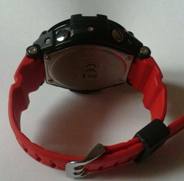 Ga 1000 Red and Orange Aviator G shock image 4