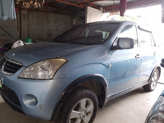 SUV Mitsubishi machine defective photo