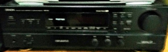 Denon amplifier photo