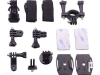 SJ4000 ACCESSORIES KIT SJCAM ACCESSORIES MOUNTS SET FOR SJ4000 CUBE M10 ACTION CAMERA photo