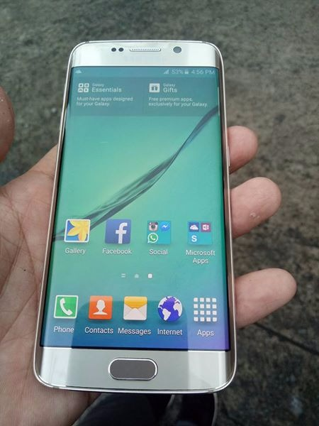 samsung galaxy s6 edge ntc ( sale or swap) photo