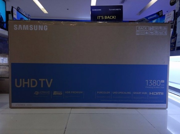 Samsung UHD LED TV 55KU6000 photo