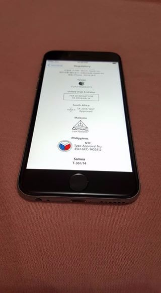 Iphone 6 32gb Factory Unlock (SpaceGray) image 5