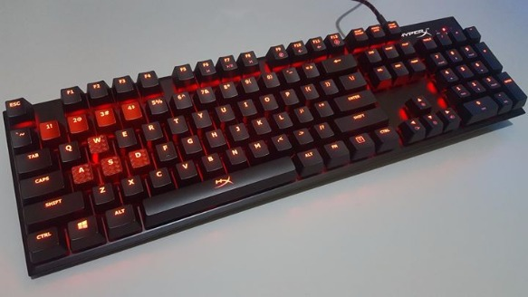 HyperX Alloy FPS Mechanical Keyboard - Cherry MX Blue photo