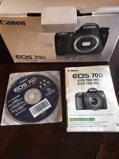Canon 70D with 18-200mm Lens photo