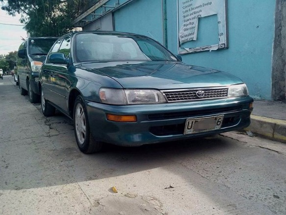 Toyota Corolla Xe 96 acquired photo